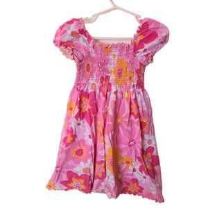 Girlfriends by Anita G. Smoked Floral Dress 6 Year